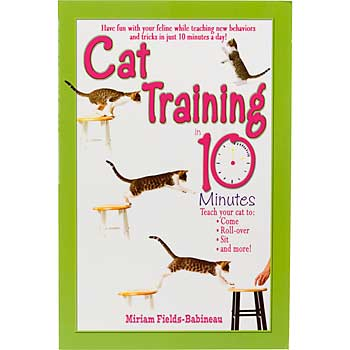 Train your cat in just 10 minutes