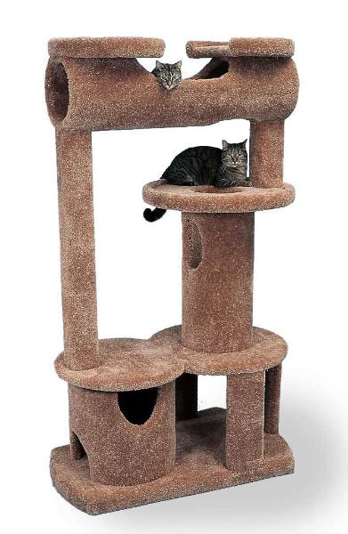 Awesome Cat Playhouse 3 foot dutch bell tower cat