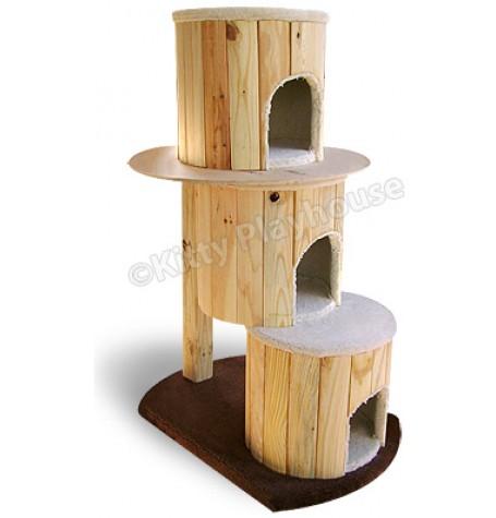 Brand new 3 Story Cat Tree Hut - CoolKittyCondos MZ23