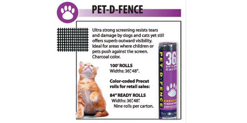 Protect Your Window Screens With Scratch Resistant Pet