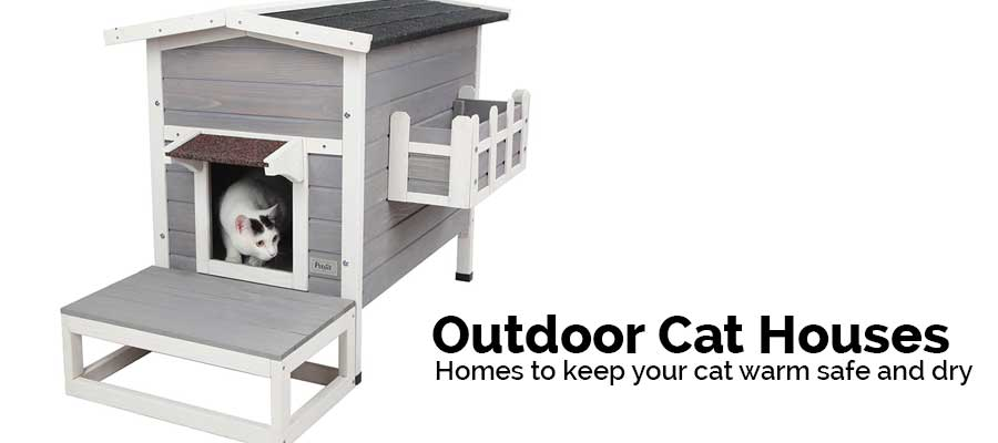 cat houses designed to keep cats warm safe and dry