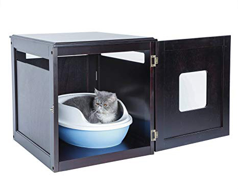 Hide your cats dirty litter box in an enclosure likes